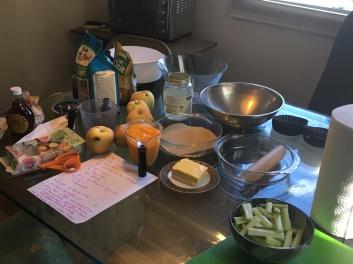 preparaion cake